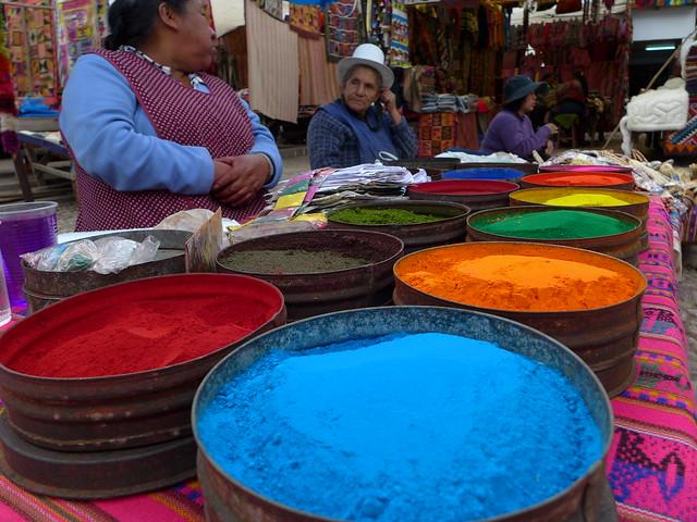 Tintas peruanas