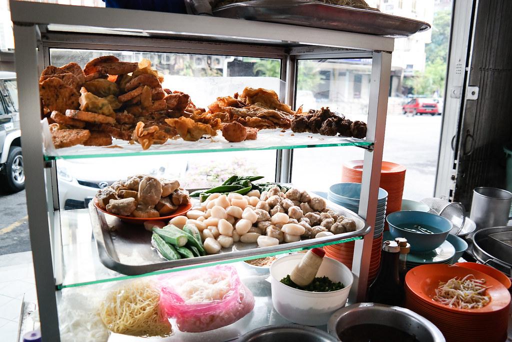 Ipoh Food Guide: Hakka Mee @ Restoran Cathay's Stall