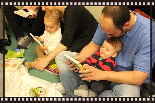 Nais e pais cos seus bebes nun dos nosos bebencontros
