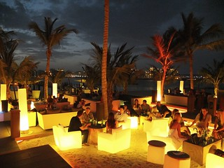 Beach Bar on Jumeirah Beach, Dubai, United Arab Emirates