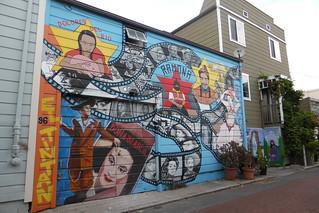Murales en Balmy Alley