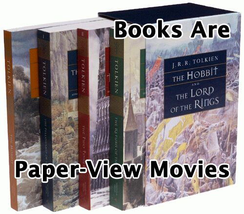 Books are Paper-View Movies