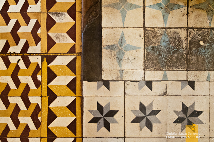 Floor Tiles of Santa Maria Church in Ilocos Sur