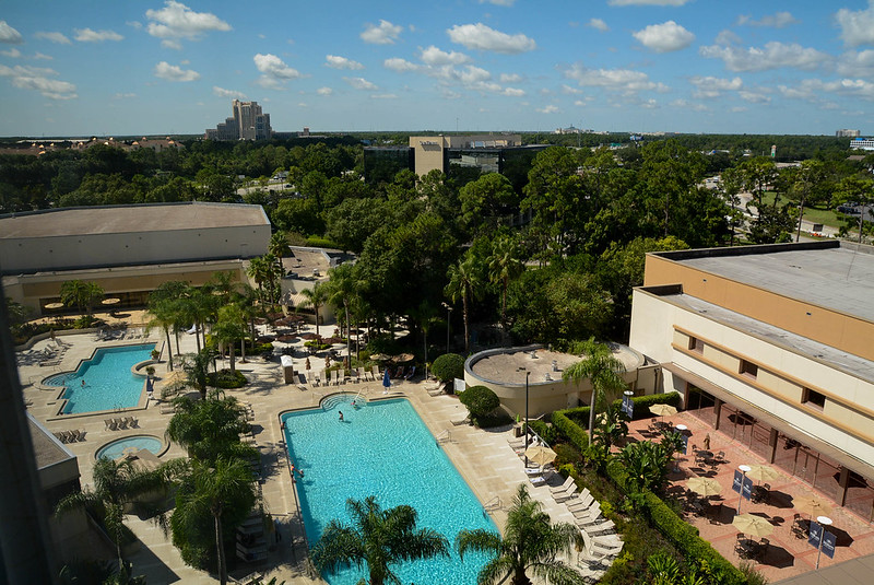 Downtown Disney Hilton Pool