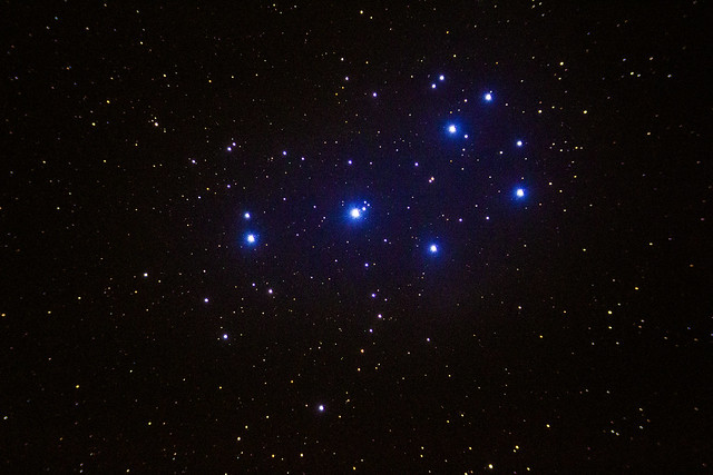 Pleiades at astrocamp 2014