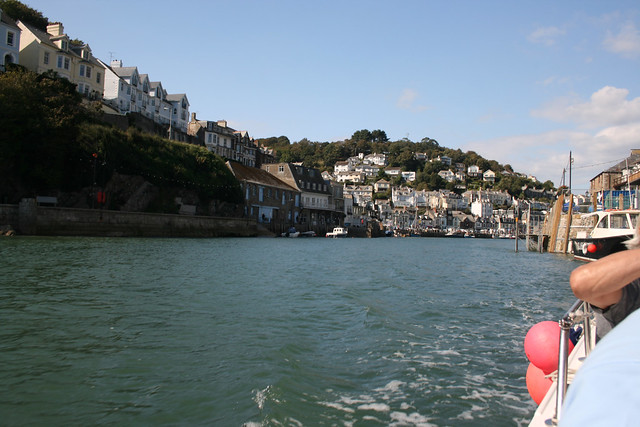 Heading out of Looe