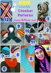 Crochet-Kids-Scarves-Hats-Round-Up