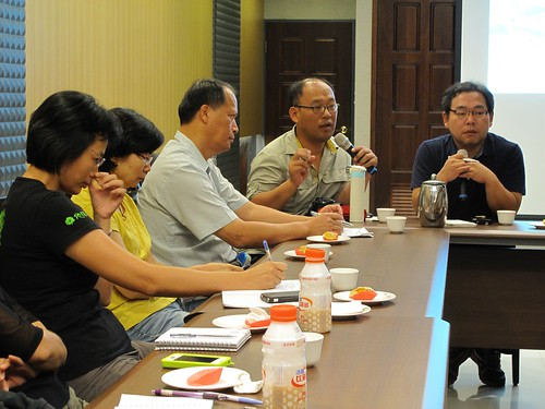 KFEM交流代表與台灣南部環保團體、河川組織交流。攝影:林吉洋