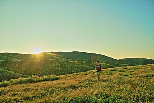 sunrise taiwan 7d taipei 台灣 台北 grassland 陽明山 hdr yangmingshan 擎天崗 台湾 草原 日出 國家公園 qingtiangang 日の出 naionalpark yangmingmountains