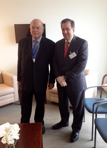 Secretary General Met with the Foreign Minister of Mexico