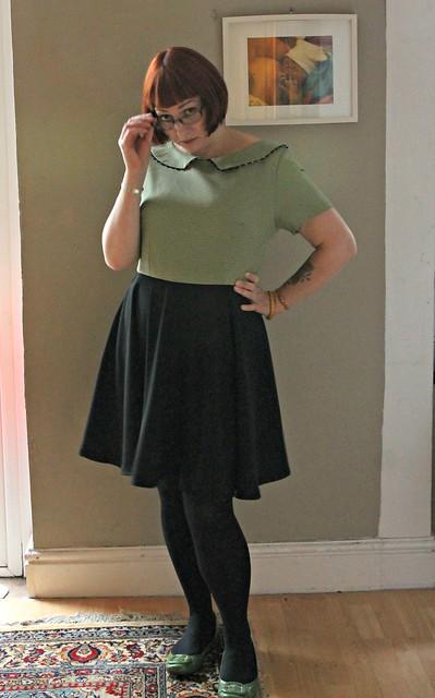 librarian dress