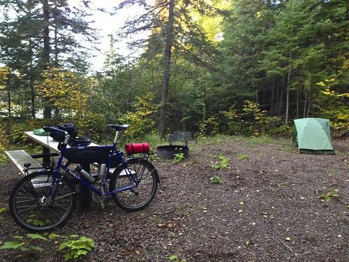 Boulder Lake Campsite