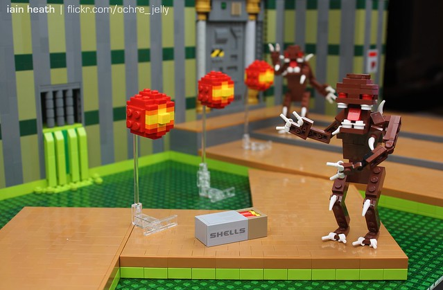 LEGO DOOM: Fireballs? How imp-olite!