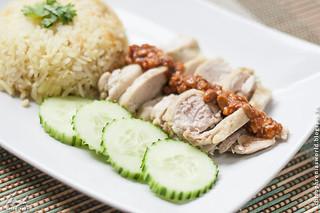 ข้าวมันไก่ (Khao man gai)