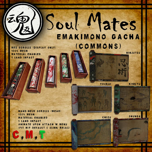 [Soul Mates] Emakimono Common