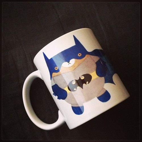 #wip everywhere! This is just a prototype & not exactly how the final pieces will look, but I am very excited to have someone as local as possible putting my artwork on these mugs! #migrationgoods #pudgybear