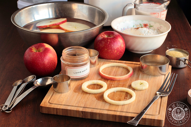 Fried Apple Rings with SweeTango apples   Je suis alimentageuse