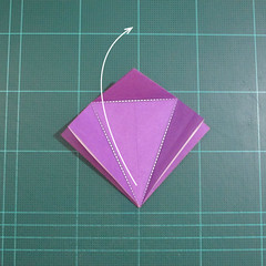 วิธีพับกระดาษเป็นรูปเต่าแบบง่าย (Easy Origami Turtle) 004