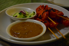 Chicken Satay at Thai Charcoal Pit