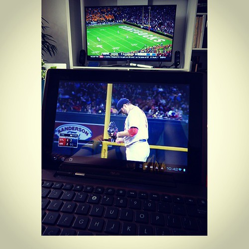 Yes, this is happening right now. Don't judge me. #STLCards #Mizzou