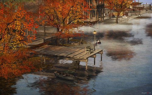 autumn reflections landscape sl secondlife virtualworld nevariver morgananagorski