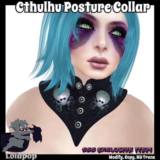 LolapopLogo-CthulhuPostureCollarAd