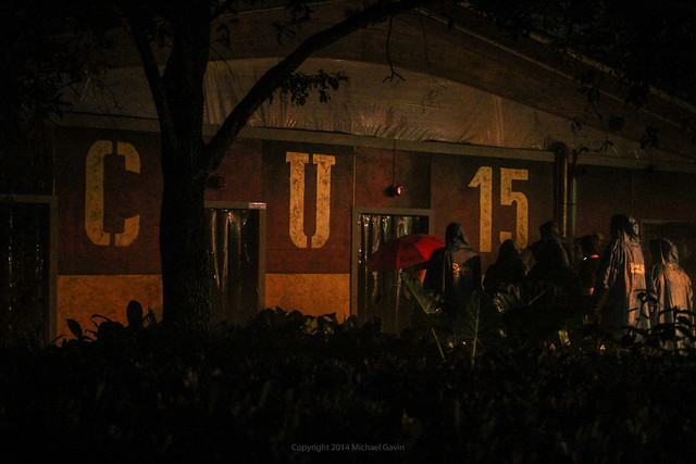 zombie shooting haunted house leads fun new thrills in howl o scream 2014 at busch gardens tampa
