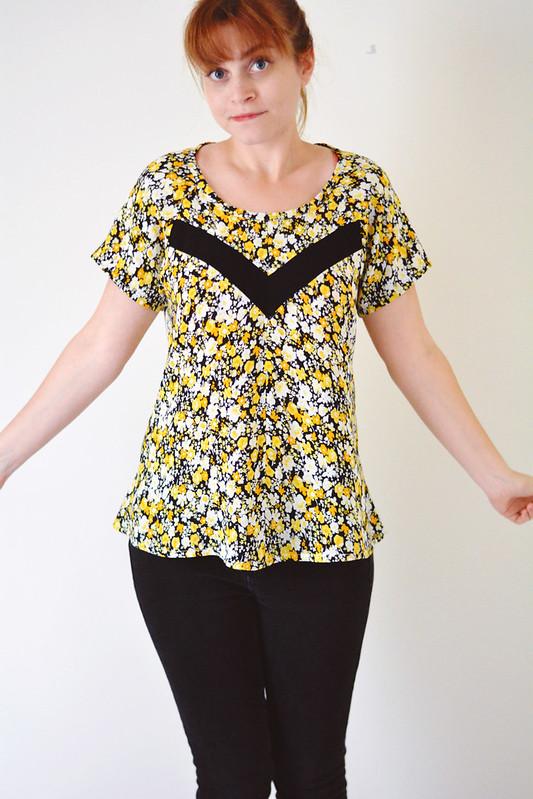 Papercut Patterns Clover Shirt