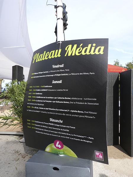plateau média