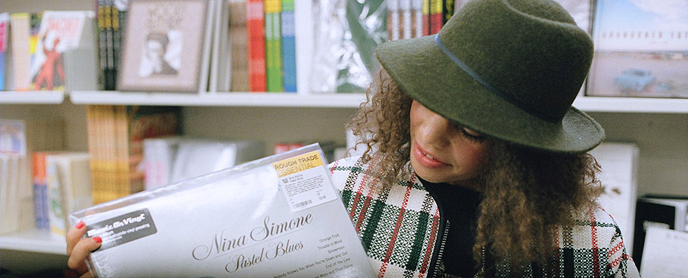 Record Shopping With Andreya Triana