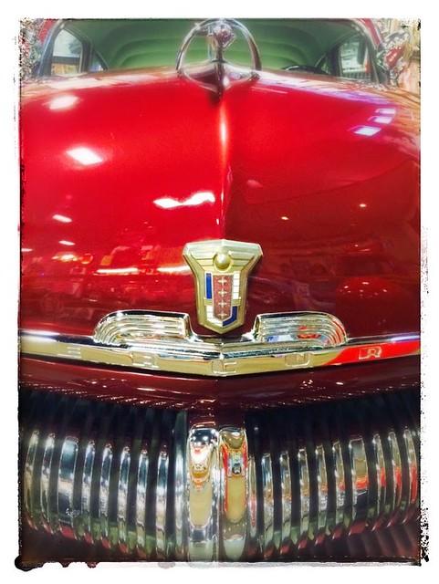 Red Classic Car MGGA33