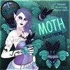 Preview: ~silentsparrow~ Moths for RMK Gothic Halloween!