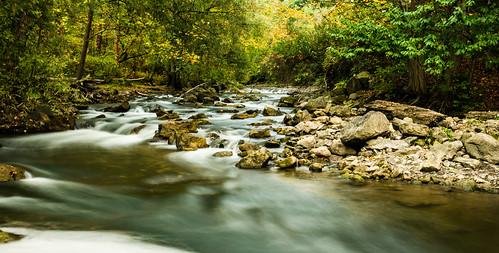 longexposure autumn landscape rochester fallfoliage linearpark penfieldny