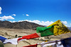 Prayer Flags in Thikse Monastery