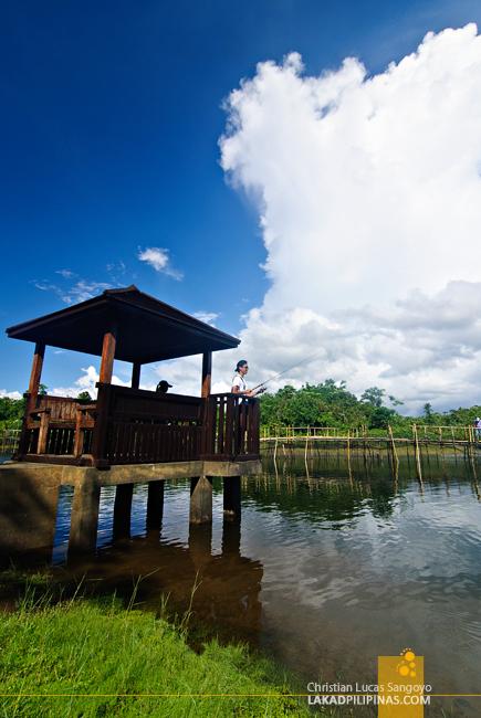 Fishing at Mountain Lake Resort in Caliraya Springs
