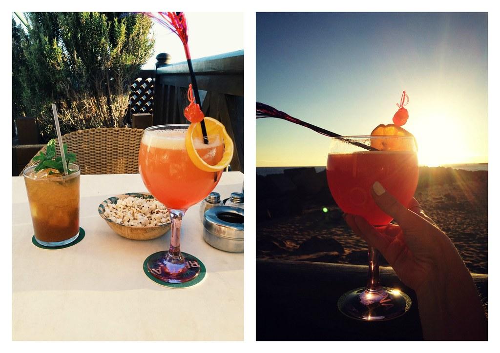 Beach cocktails tenerife