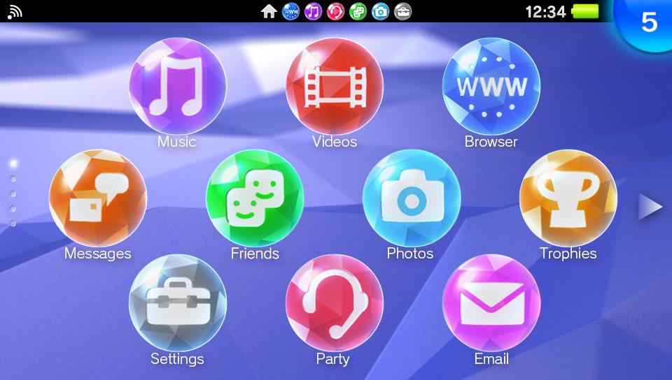 PS Vita system software update