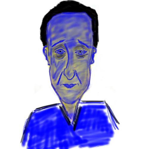 David Cameron.  I no artist - clearly.