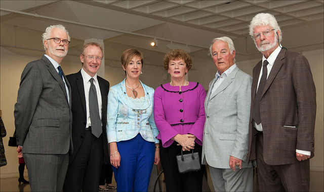 Patrick Murphy Frank Feighan Rhona McGrath Marion Ahern Barry Feely and Des McMahon President RHA IMG_0549