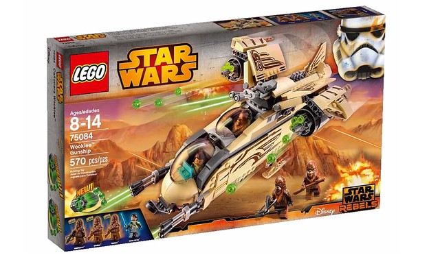 LEGO Star Wars 75084 - Wookiee Gunship
