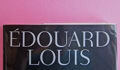 Édouard Louis, Il caso Eddy Bellegueule. Bompiani 2014. Progetto grafico: Polystudio; Imm. alla cop.: ©Hans Neleman/Corbis; fotog. dell'autore: John Foley/Seuil. Prima di sovracop. (part.), 6