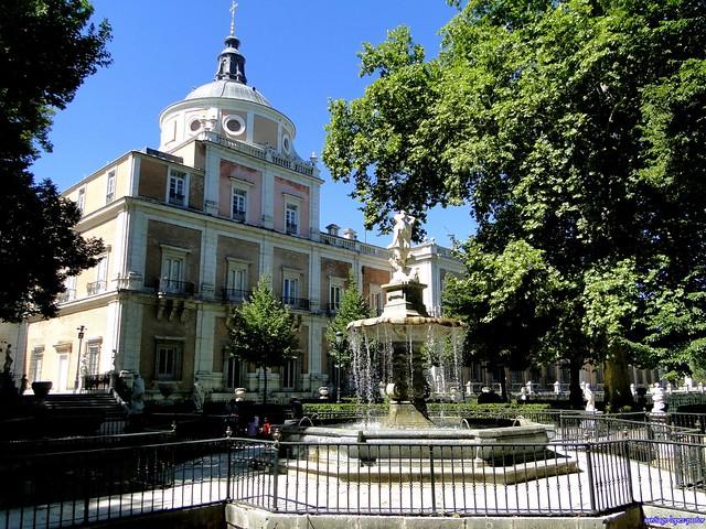 Fuente de Hércules e Hidra, Jardín de la Isla (Aranjuez)