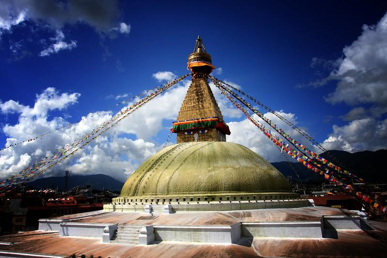 The Sacred Bodhnath, Kathmandu