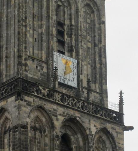 Groningen tower sundial