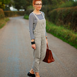 Breton stripes and dungarees