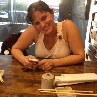 #100happydays Sushi with Loretta at Atun Sushi in Long Beach after Yarnosphere.