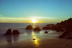 Sunset on Point Dume, Malibu, CA.  #coast #filmlocation #malibu #canon5dmarkii #wildcalifornia #rawcalifornia #sunset -#sunsetporn #sunset_pics #sunsetlovers #naturephotography #naturesbeauty #artofvisuals #awesome_shots #minglo #malibu #california #trave