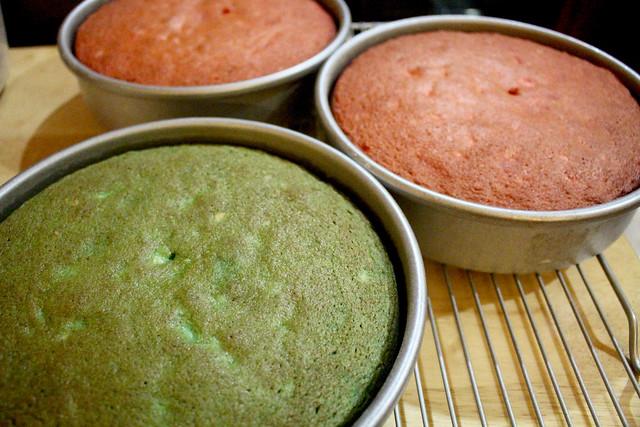 Tricolor Cake - 13