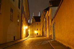 Night View From Staré zámecké Schody, Prague