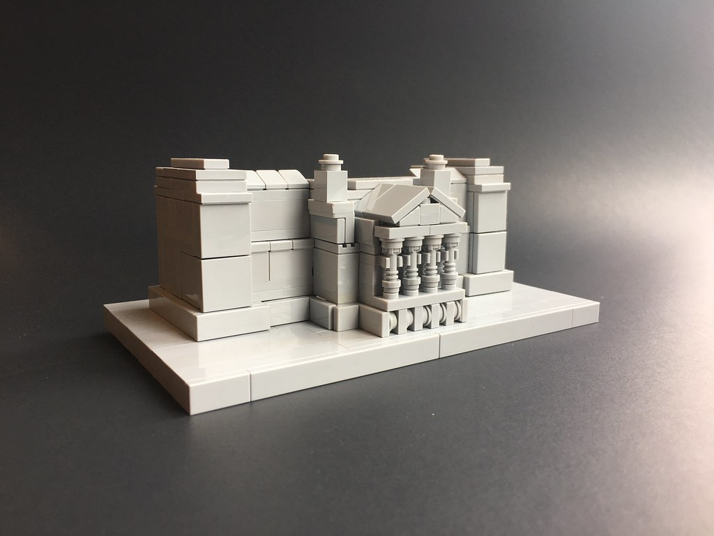 unfinished (custom built Lego model)